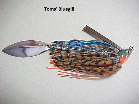 Switch Blade Jigs: Toms Bluegill