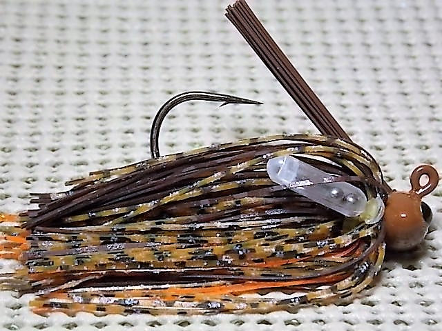 Football Jigs, Tournament Edition: Brown Craw