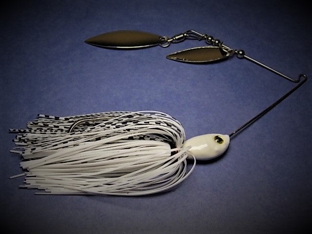 Spinnerbaits, Double Willow: Gizzard Shad