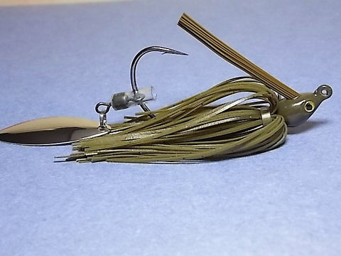 Switch Blade Jig: Green Pumpkin