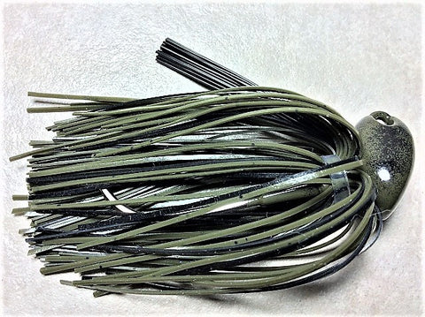 Flippn/Pitchn Jig:Green Pumpkin / Black