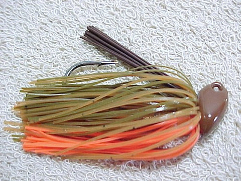 Flippin/Pitchin Jigs: Green Pumpkin/ Pumpkin/Orange