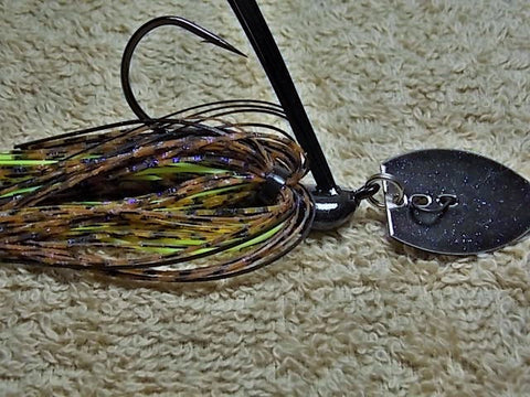 Bladed Swim Jig: Ozark Craw
