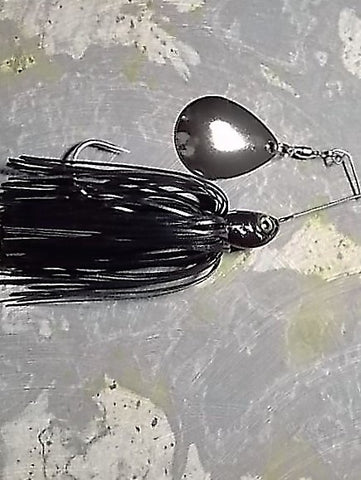 Spinnerbaits, Single Colorado: Black Jim Arnold Custom