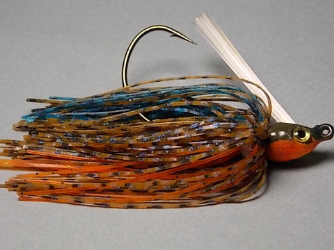Premier Swim Jigs: Tom's Bluegill