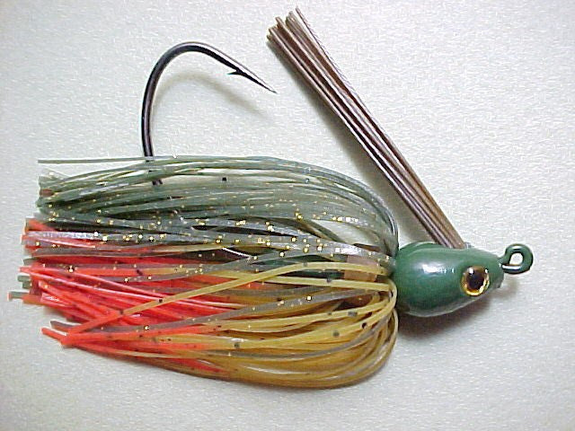Premier Swim Jigs: Watermelon Hot Craw