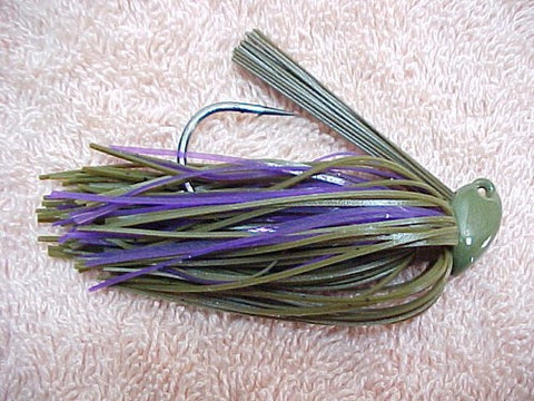 Flippin/Pitchin Jigs: Green Pumpkin/ Purple (Tony)