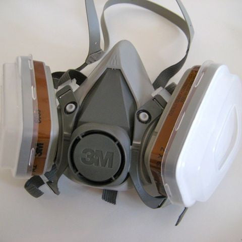 3M respirator comfort half mask to protect from fine particles