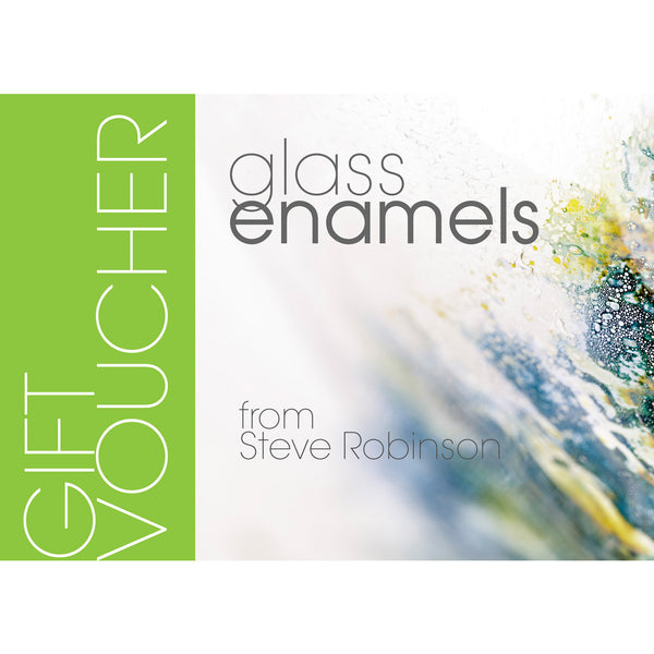 Gift voucher to be used on any glass enamel product
