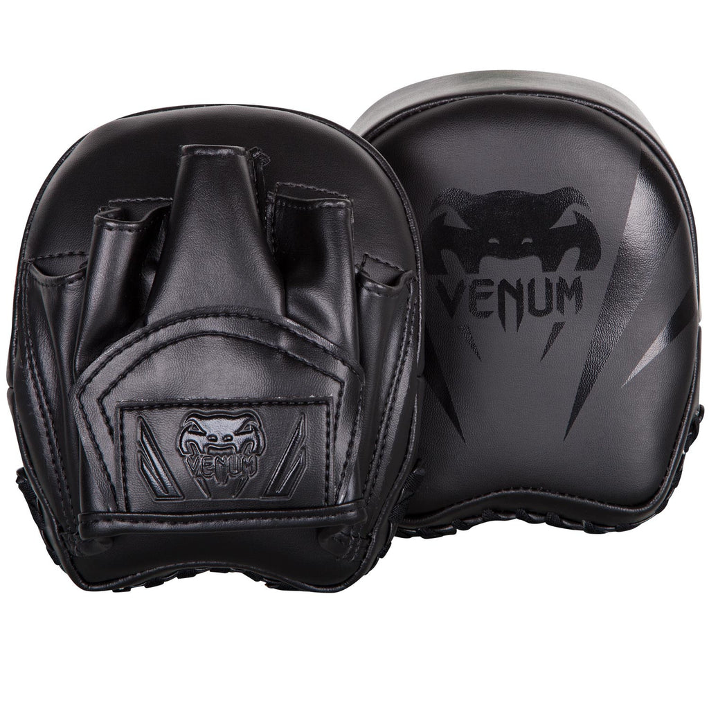 Venum Elite Mini Punch Mitts-Black/Black