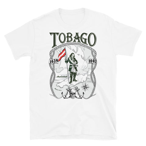 Tobago 2.0 T-shirt White; Balts T-Krekls; Футболка Белая.