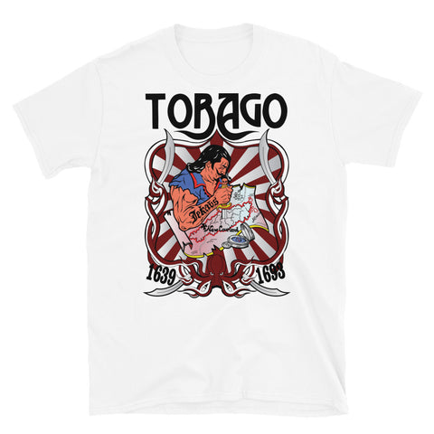 Tobago T-shirt White; Balts T-Krekls; Футболка Белая.