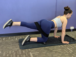 Glute Band Exercises - Low Impact, & Beginner Friendly