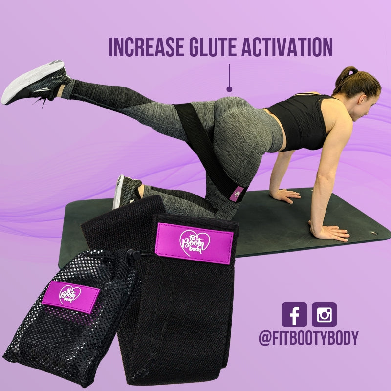 Glute Fabric Hip Band - Firm/Heavy Resistance