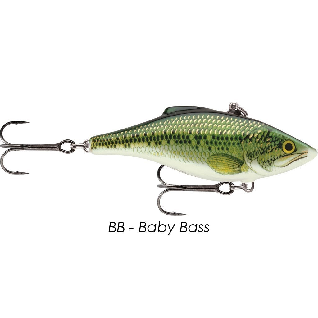 Rapala Rattlin RNR07 BB Baby Bass