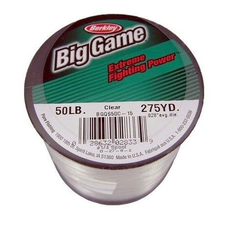 BERKLEY BIG GAME 1/4 LB. SPOOLS