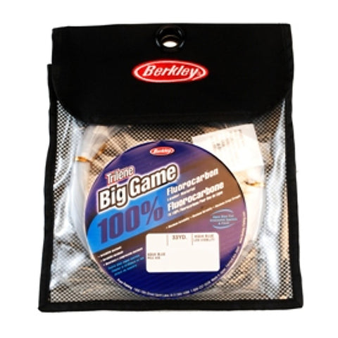 BERKLEY BIG GAME 100% FLUORO LEADERS - 33yds