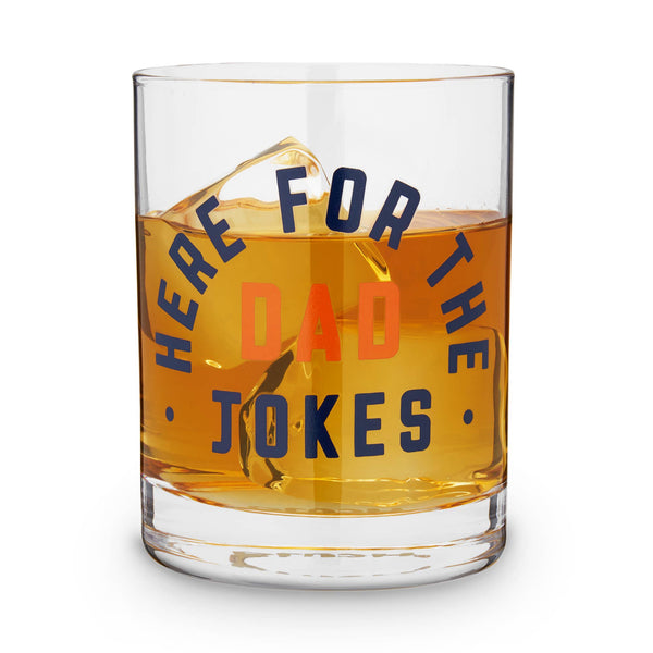 Dad Jokes Cocktail Glass