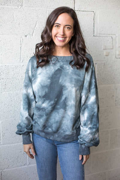 Reversible Tie Dye Top