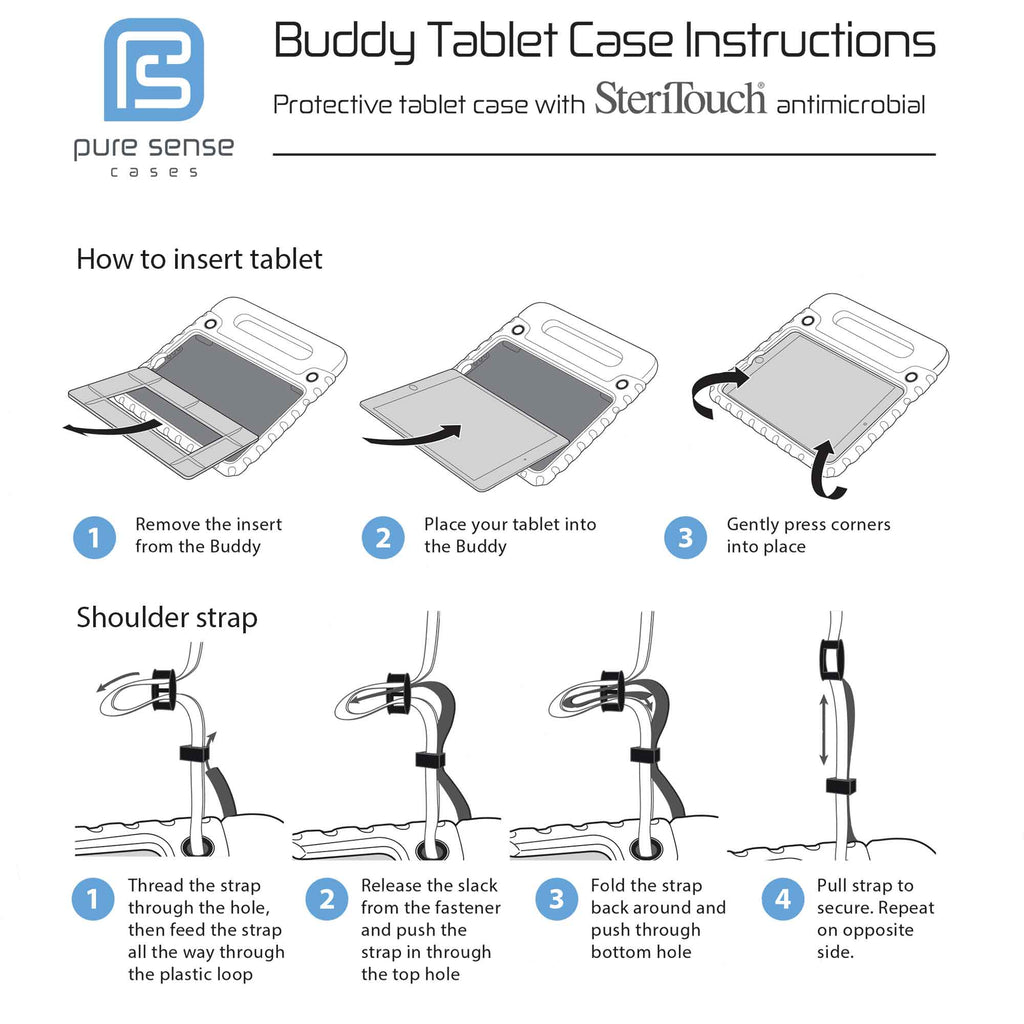 Pure Sense Buddy installation manual for Galaxy Tab Pro 12.9