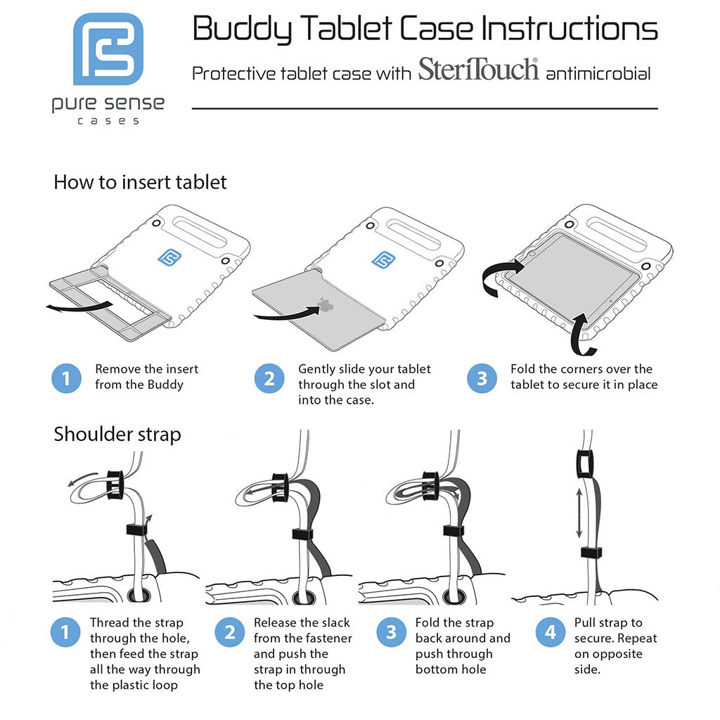 Pure Sense Buddy installation manual for iPad Mini 3 2 1