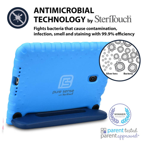 Germ free, bacteria killing, antimicrobial Galaxy Tab A 8 case