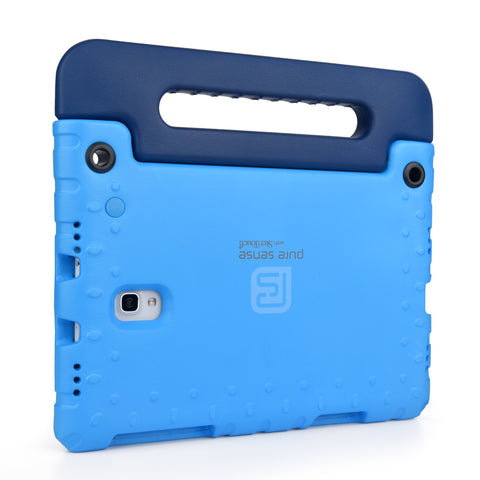 Open case cutouts for camera, volume buttons, charging port for Galaxy Tab A 10.1