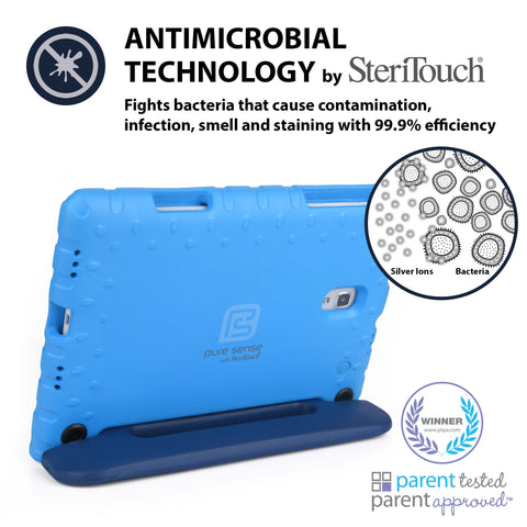 Germ free, bacteria killing, antimicrobial Galaxy Tab A 10.1 case