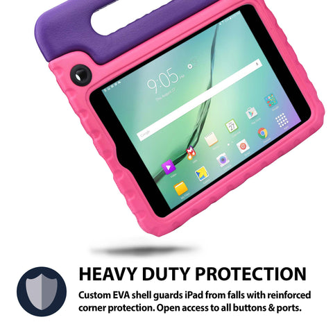 Rugged, heavy duty, tough Galaxy Tab A 8 case