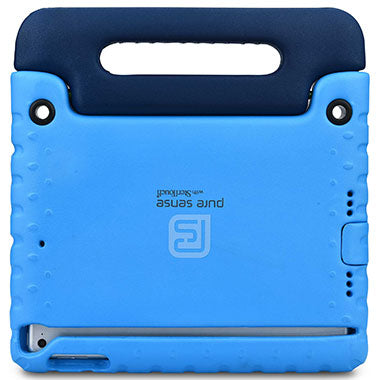 Open case cutouts for camera, volume buttons, charging port for iPad Pro 9.7