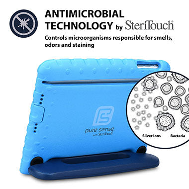 Germ free, bacteria killing, antimicrobial iPad Mini 3 2 1 case