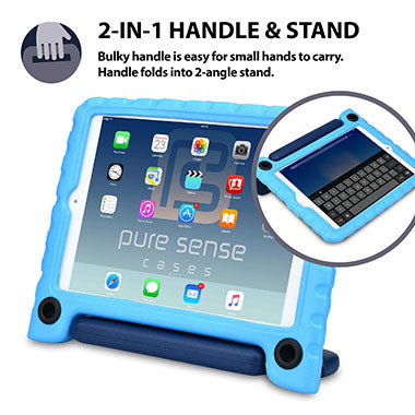 2-in-1 cover with stand & handle for iPad Mini 3 2 1