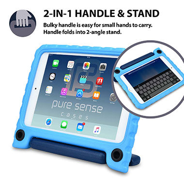 2-in-1 cover with stand & handle for iPad Mini 4