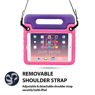 Adjustable shoulder strap cover for iPad Mini 4
