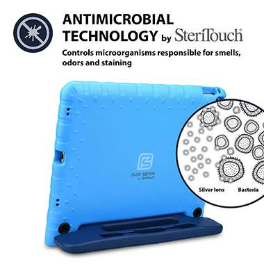 Germ free, bacteria killing, antimicrobial iPad Pro 12.9 case