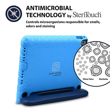 Germ free, bacteria killing, antimicrobial iPad 9.7 case