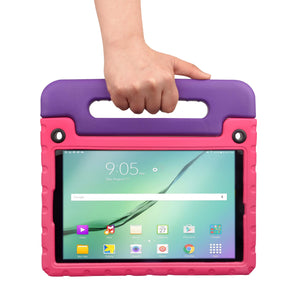 Buddy Antibacterial Protective Kids case for Samsung Galaxy Tab A 10.5 (2018) // Handle+Stand, Shoulder Strap, Screen Spray