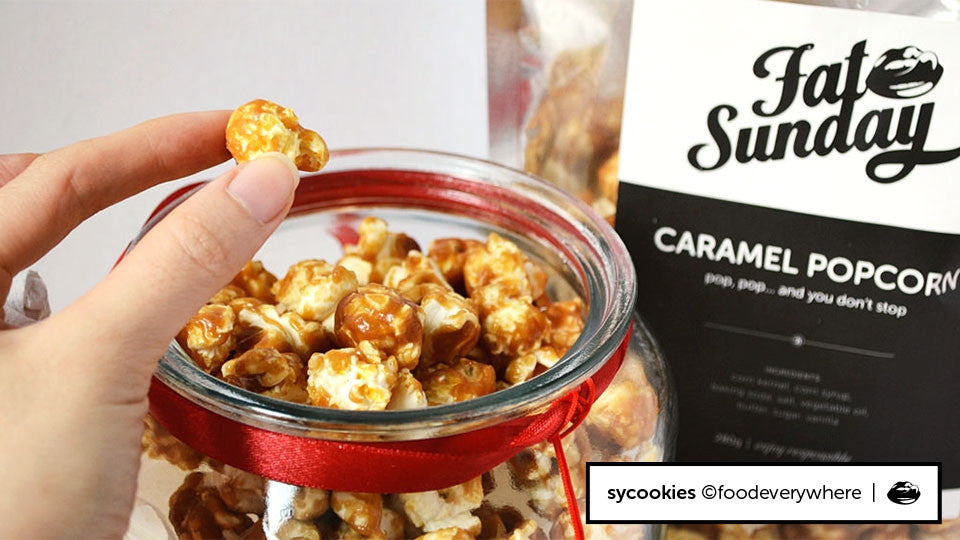 Sycookies raves about our Caramel Popcorn