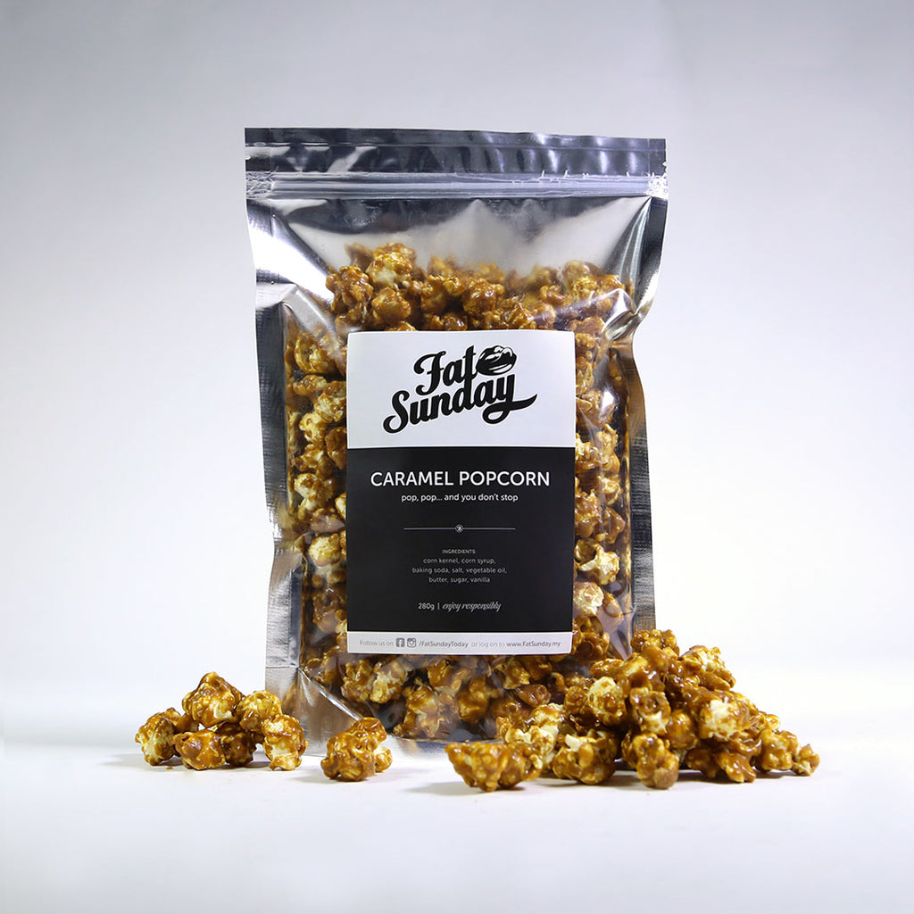 Caramel Popcorn by Fat Sunday