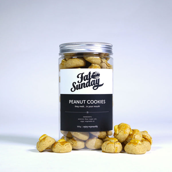 Peanut Cookies by Fat Sunday