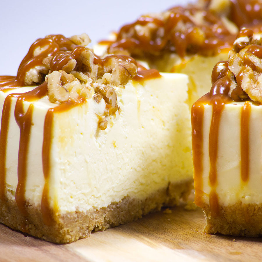 Salted Caramel Cheesecake - Fat Sunday