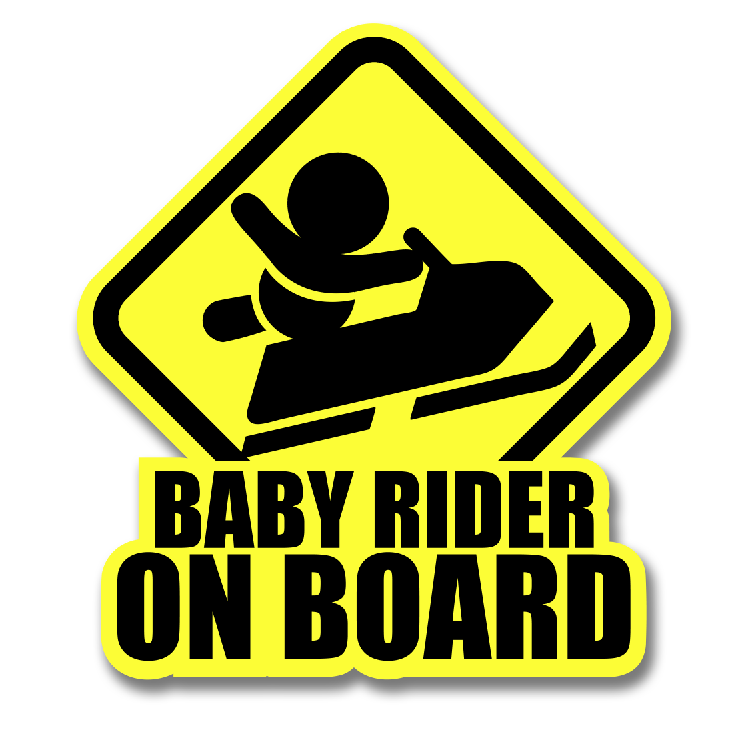 BABY SLEDDER DECAL