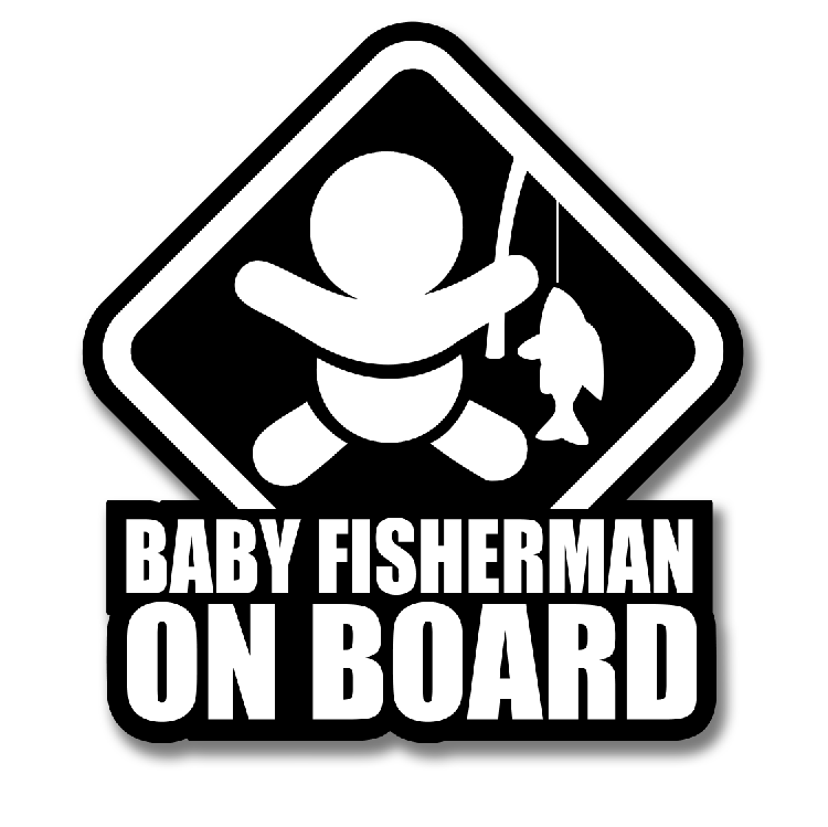 BABY FISHER DECAL