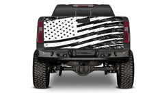 TAILGATE WRAP- WHITE FLAG