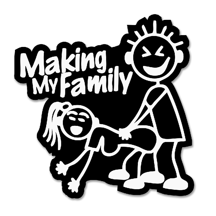 MAKING FAMILY DECAL