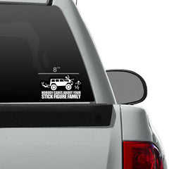 STICK FAMILY DECAL