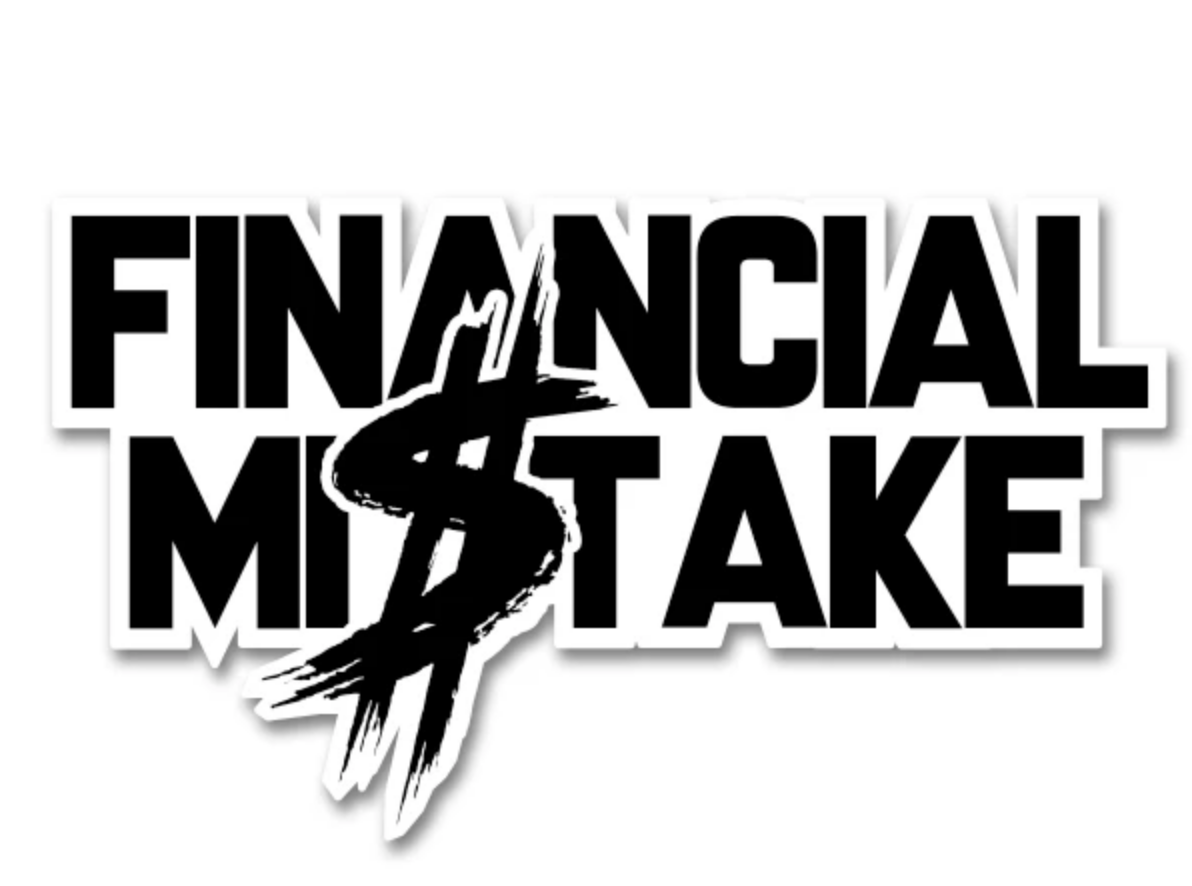 FINANCIAL MISTAKE DECAL