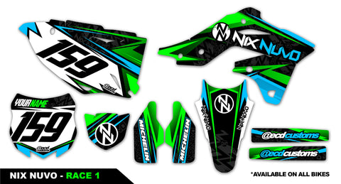 NIXNUVO RACE TEAM KIT