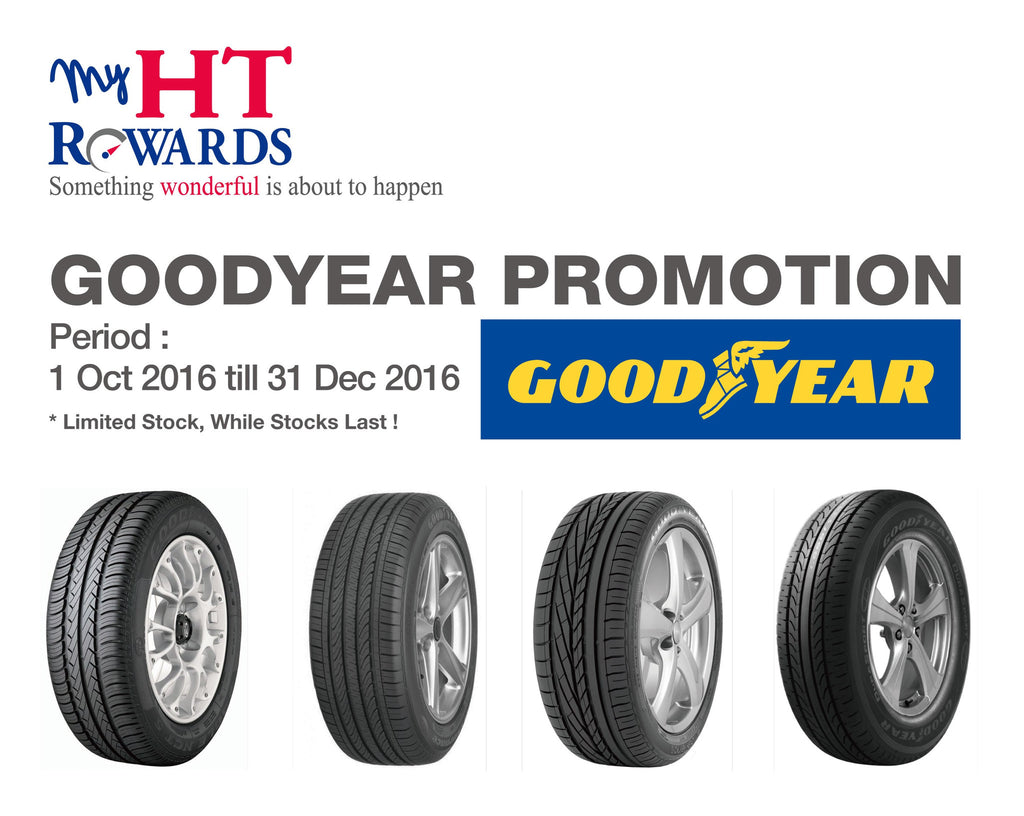 Goodyear Year End Promotion