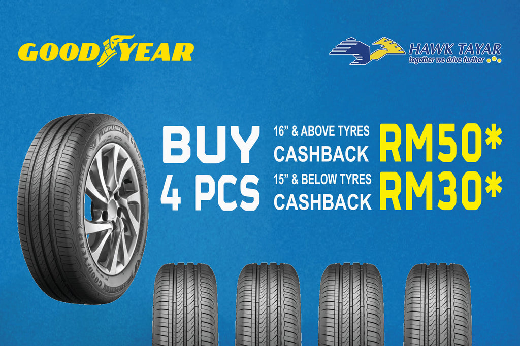 GOODYEAR JULY 2019 TYRE PACKAGE PROMOTION